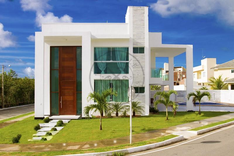 Porta pivotante com portal duplo lateral e bandeira superior ecoville portas especiais - Entrada de casas modernas ...
